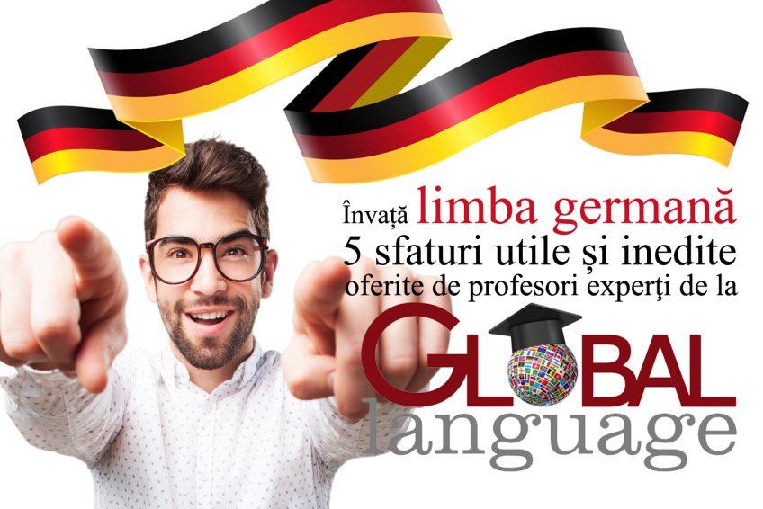 Invata limba germana cu spor – 5 sfaturi utile si inedite
